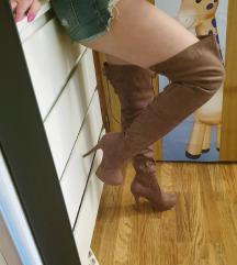 Cizme iznad koljena 39
