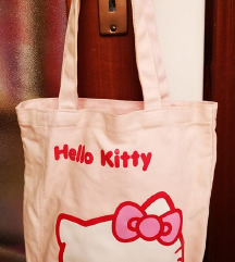Platnena Hello Kitty torba
