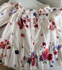 Zara cvjetna majica