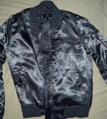 Bomber metallic jakna