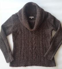 Marco Pecci smeđi pulover