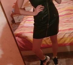 Nova kožna haljina!