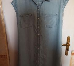 H&M jeans haljina vel.46