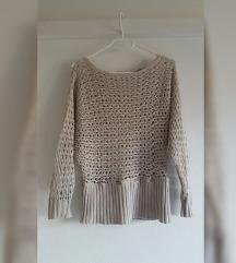 Barnes rupičasti pulover, 100% pamuk