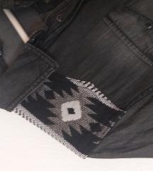 Siva jeans košulja