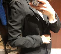 Zara crni klasicni sako