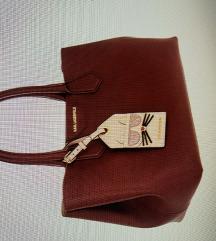Karl Lagerfeld shopper burgundy