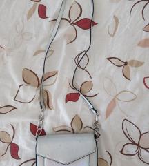 Mini torbica srebrna