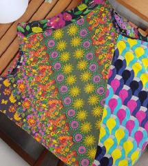 DESIGUAL asimetrična šarena suknja