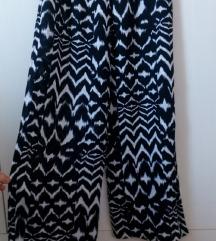 M&S pamučne široke hlače 38