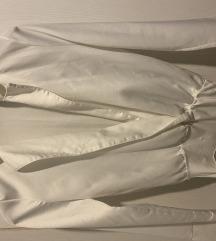Zara bijeli satenski body