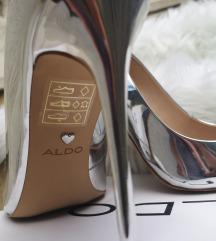 Aldo štikle srebrne NOVE