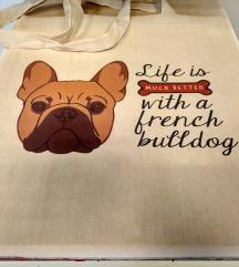 Eko Torba / Tote Bag French Bulldog