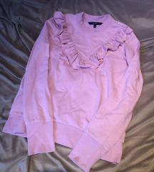 Vero Moda roza majica s volanima XS