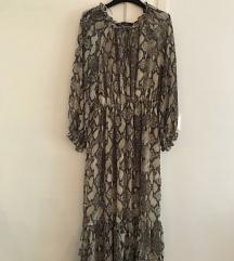 ZARA popularna haljina zmijski print
