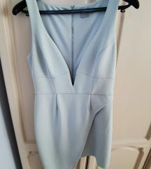 ASOS Design scuba haljina dubokog dekoltea