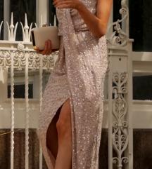 Asos dugačka haljina sa šljokicama
