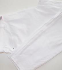 Next 3/4 bijele leggings hlače/ tajice br.40/42