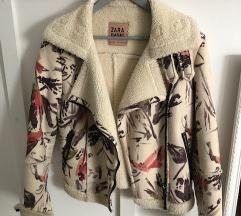 Zara kožna jakna - S