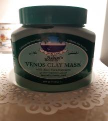 Maska za lice od zelene gline s aloe verom