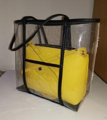 Trazim Zara transparentna torba