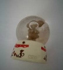 Nici mala kristalna kugla 5 cm