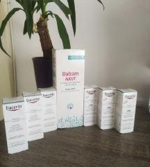 Biovitalis akut balm i Eucerin NOVO