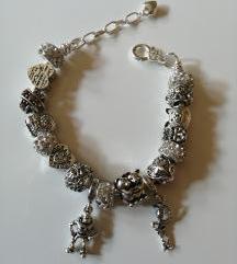 Charms bracelet Silver