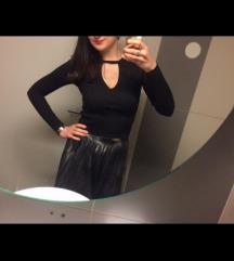 H&M majica crna basic