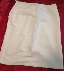 bijela suknja 38