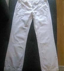 Esprit bijele široke hlače