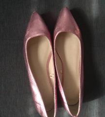 Nove Reserved roze metalik balerinke pt. uklj.