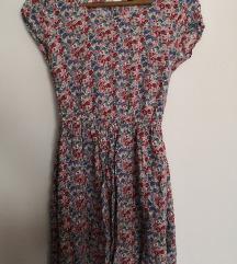 Cvjetna haljina od viskoze