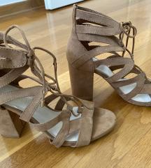 Bershka sandale na vezanje