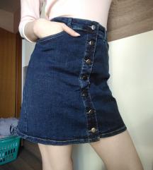 Traper suknja moderno