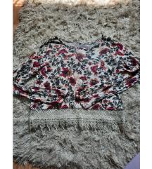 Cvijetna majica H&M