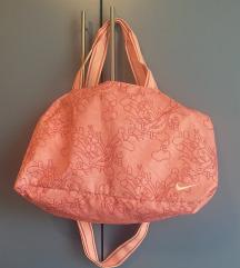 Nike ružičasta sportska torba