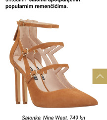 NOVE Nine West salonke s remencicima