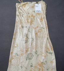 Zara mat sequin haljina