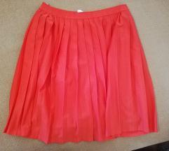 Crvena suknja M