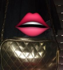 Zlatna torbica Pronta moda