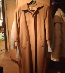Smeđi ženski kaput
