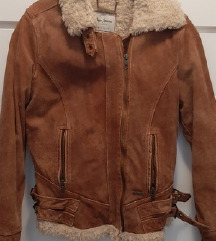 Pepe jeans kozna jakna