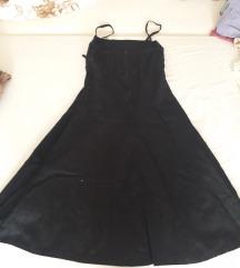 Crna haljina na rance