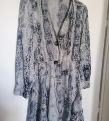 Zara zmijska  haljina