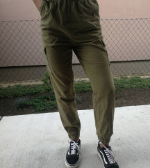 Cargo maslinaste hlače