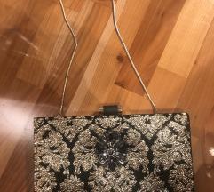 Zlatno crna torbica