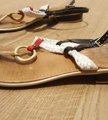 mornarske sandale - koža - Prativerdy