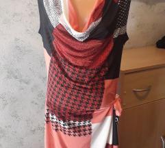 Šarena haljina na vezanje
