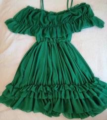 Smaragdno zelena haljina ☘️
